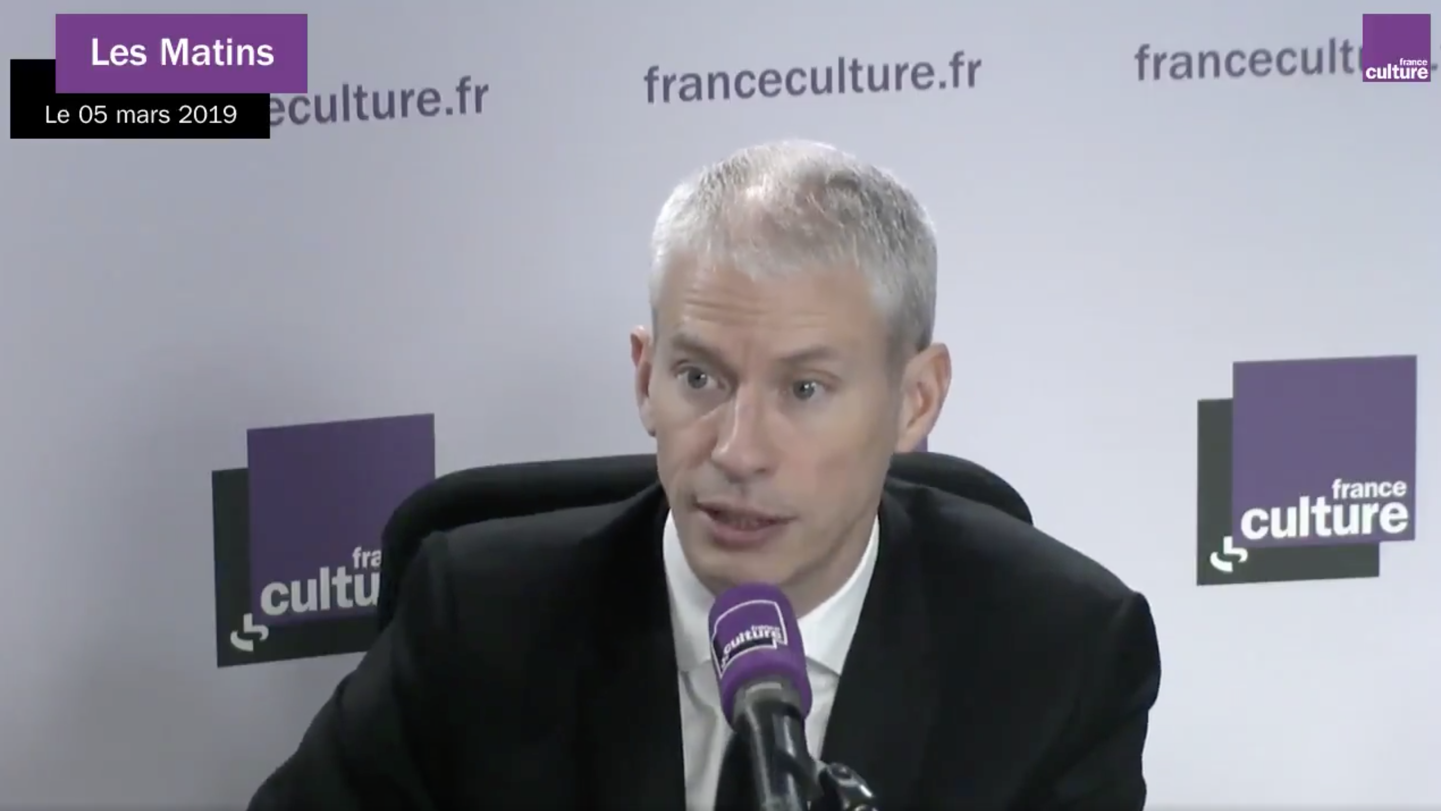 Franck Riester croît en l'avenir de la radio numérique terrestre