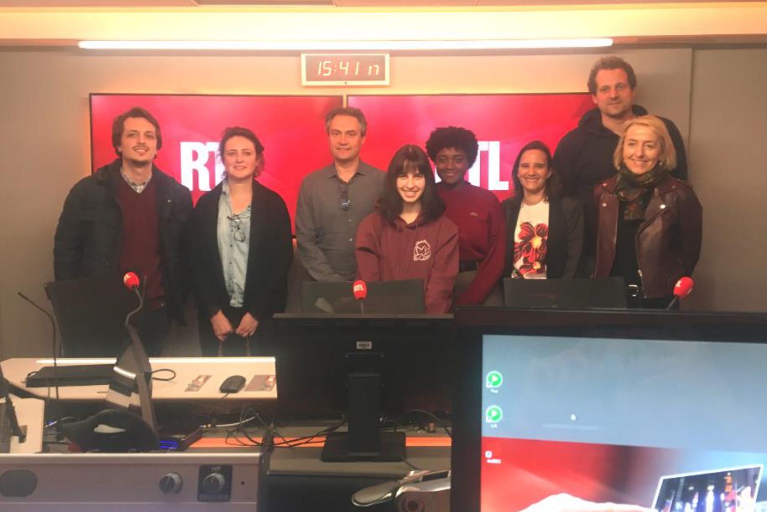 RTL participe à la Semaine de la presse dans l'École