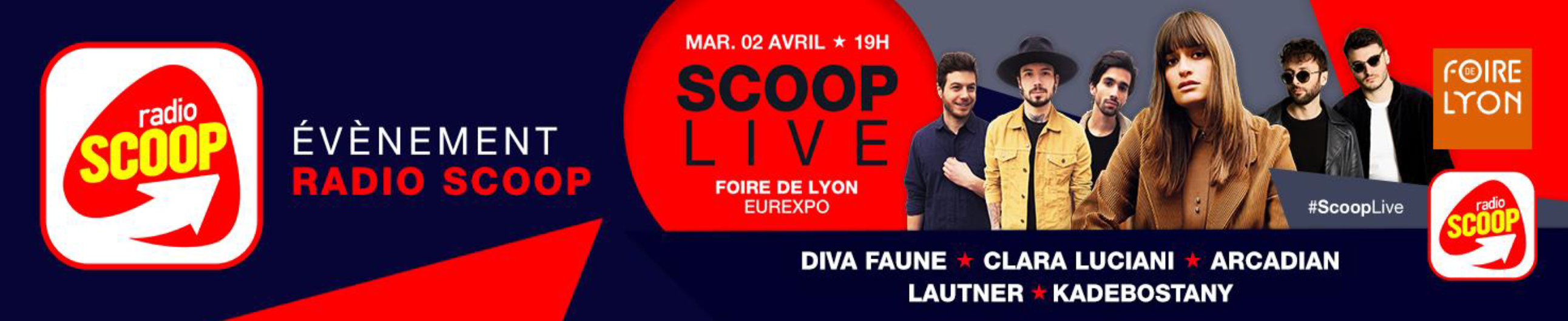 Radio Scoop, radio officielle de la Foire de Lyon 2019
