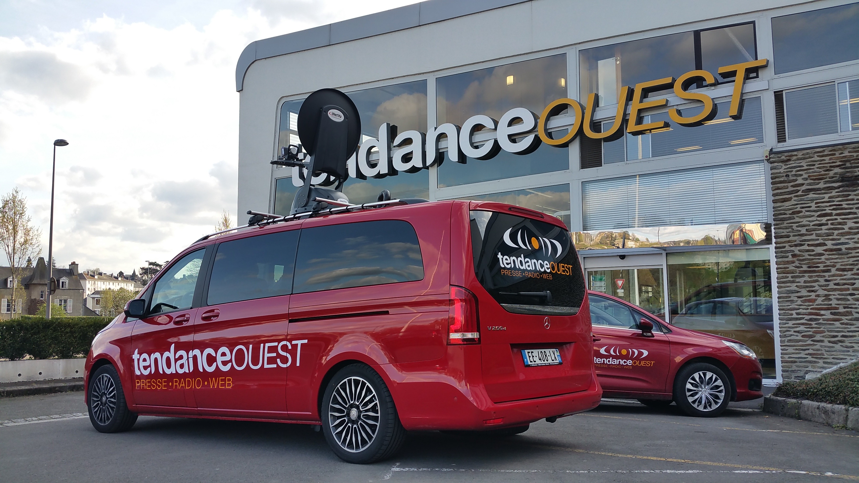 """Tendance Ouest, station du groupe de presse """"La Manche Libre"""" à Saint Lô."""