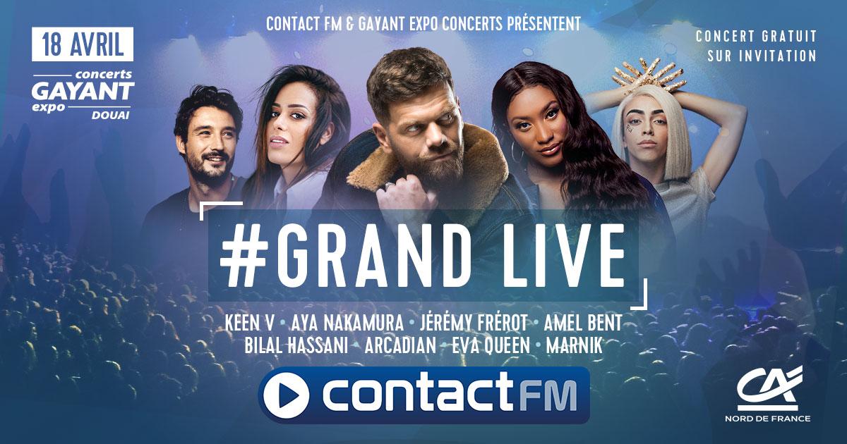 Un nouveau Grand Live pour Contact FM