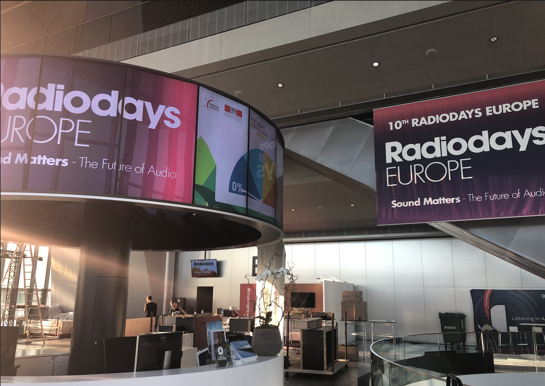 Radiodays Europe s'installe à Lausanne au coeur de l'EPFL.