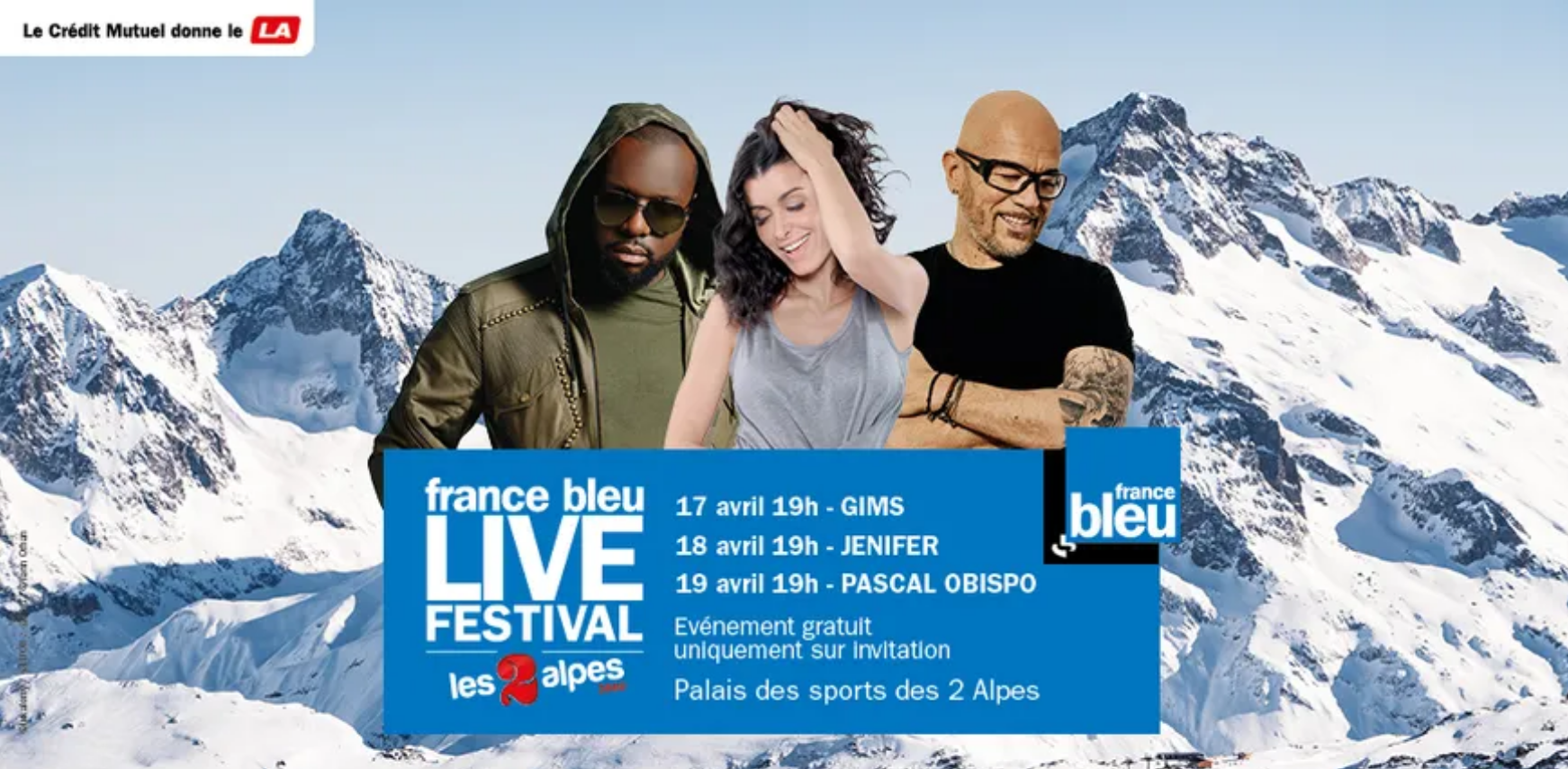 France Bleu Live au Palais des Sports des 2 Alpes