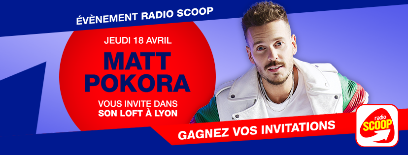 Matt Pokora invite les auditeurs de Radio Scoop dans son Loft à Lyon