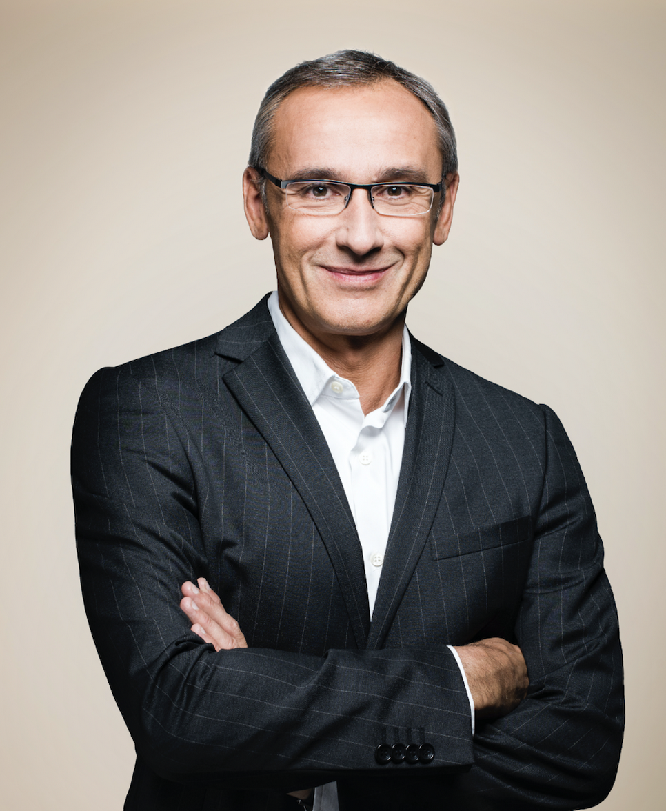 """Jérôme Dessaux est le """"Monsieur Radio"""" chez TF1 Publicité."""