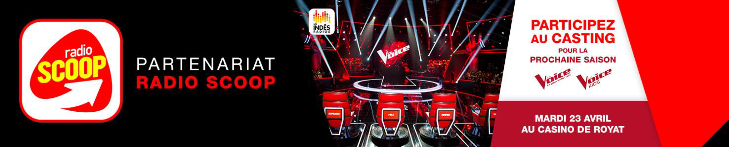 Radio Scoop au casting de The Voice à Clermont-Ferrand