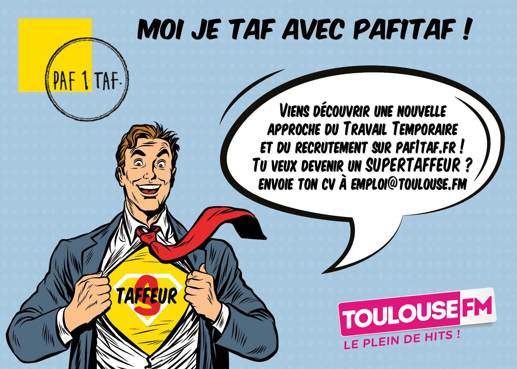 """Tous les matins, Le """"Super Taffeur"""" est sur Toulouse FM"""