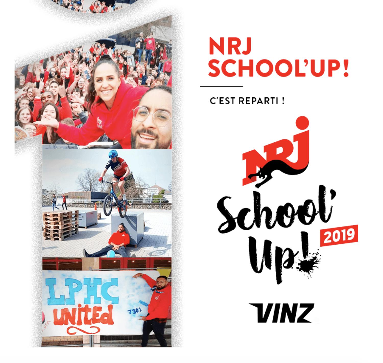 L'opération NRJ School'Up se poursuit en Belgique