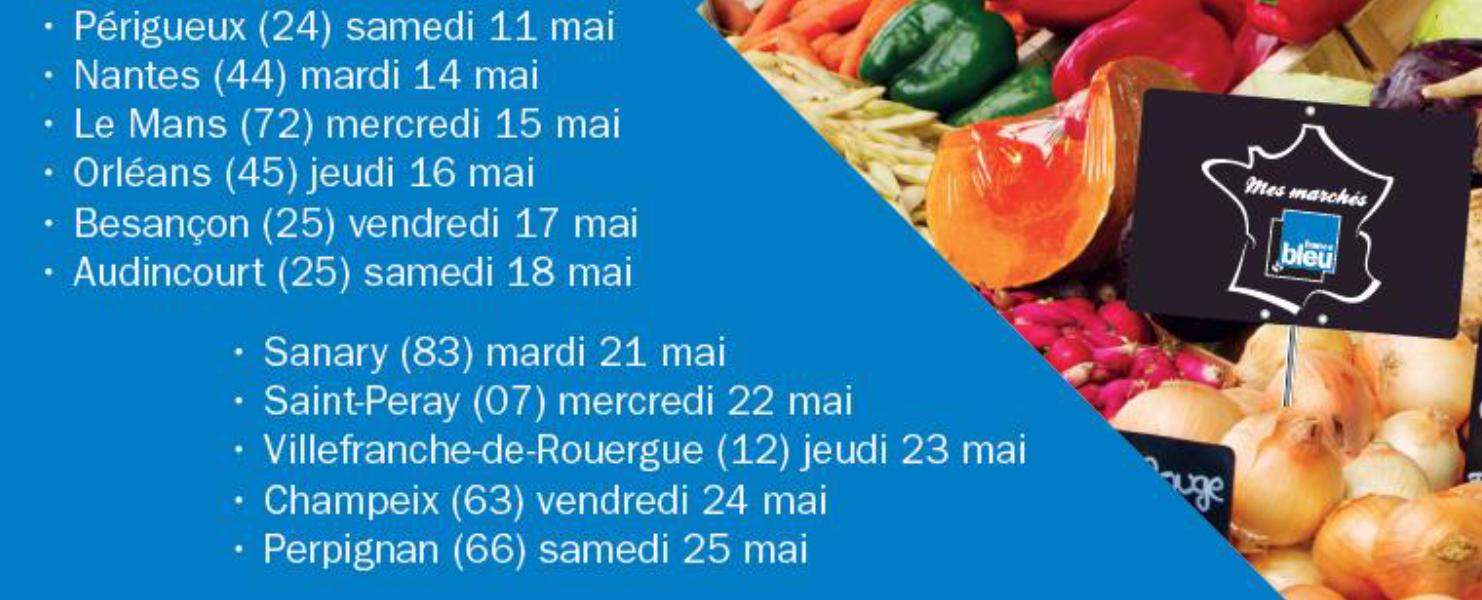 France Bleu célèbre les marchés de France