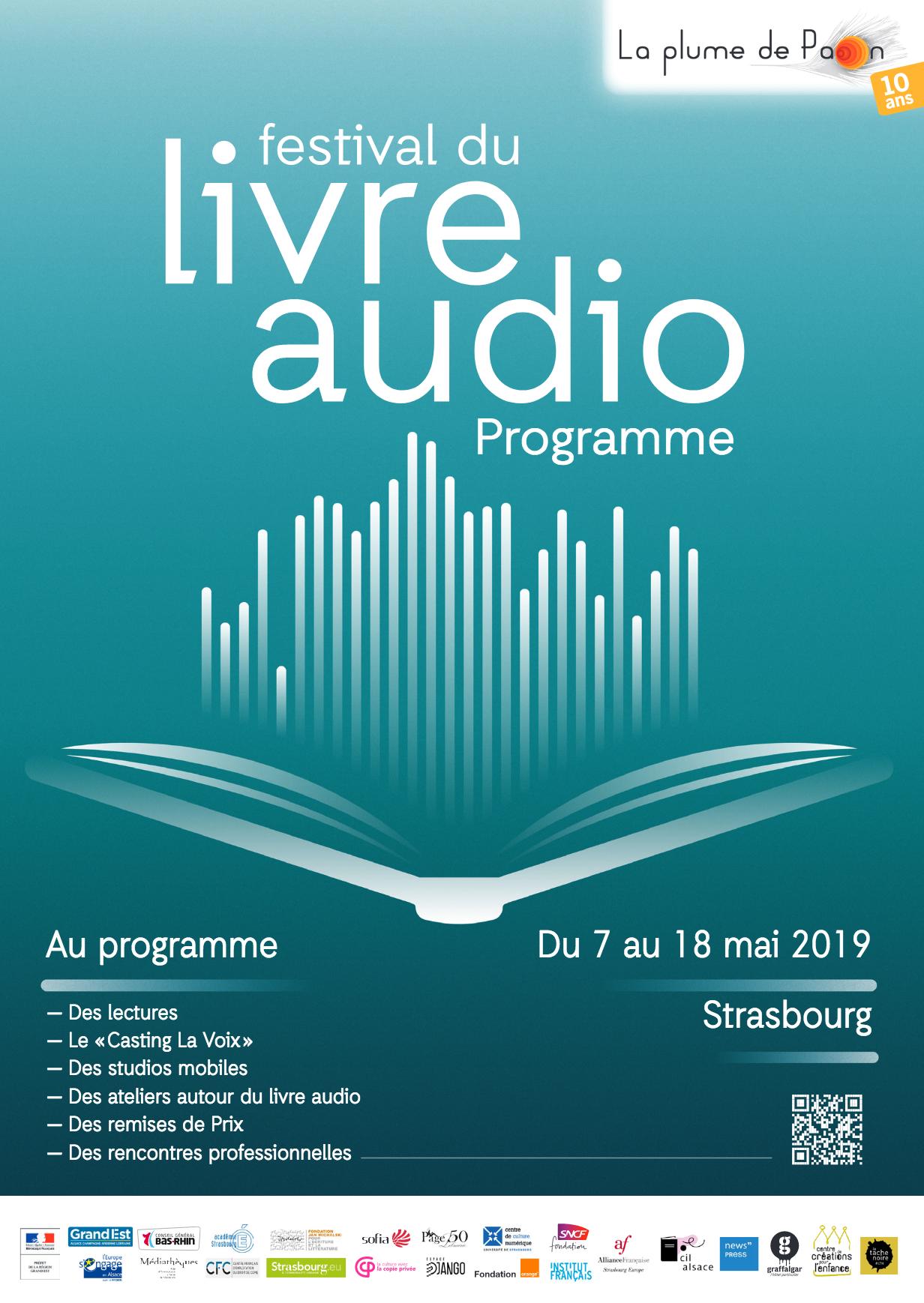 Festival du Livre Audio le programme, un secteur tendance