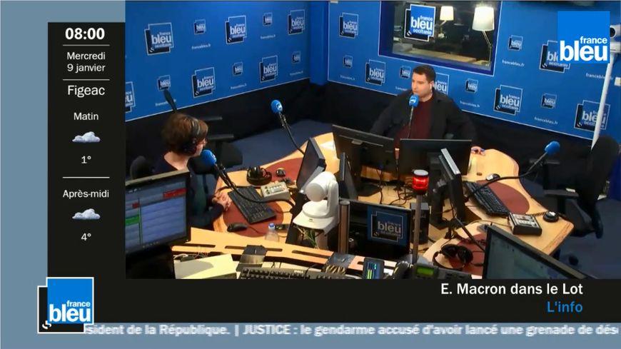 France Bleu Occitanie est diffusée sur France 3 Midi-Pyrénées depuis janvier 2019.