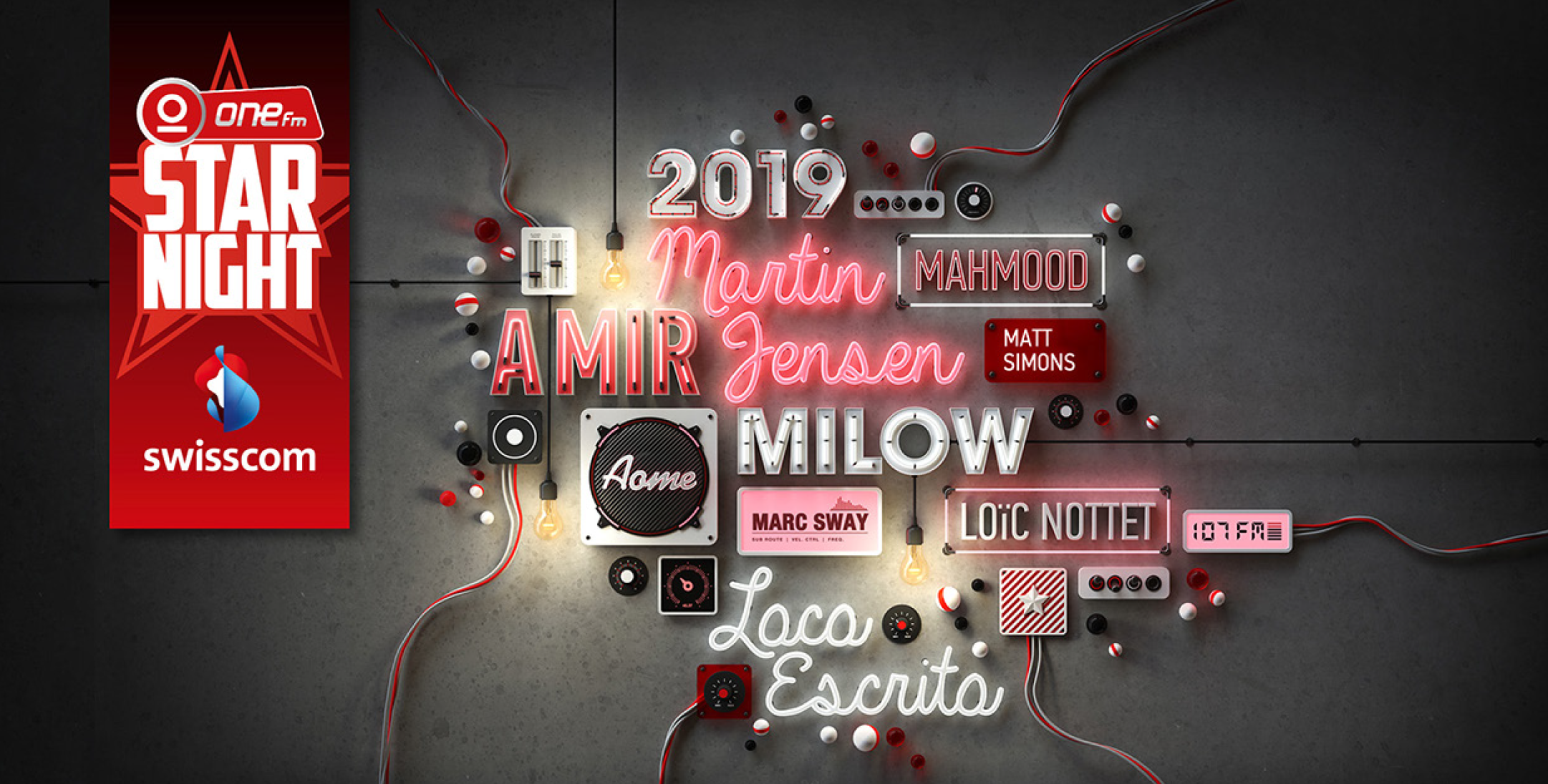 "One FM prépare son concert ""One FM Star Night 2019"""