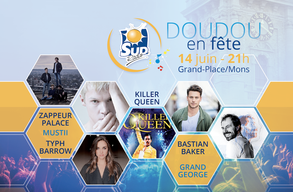 """Belgique : Sud Radio dévoile l'affiche de """"Doudou en Fête 2019"""""""