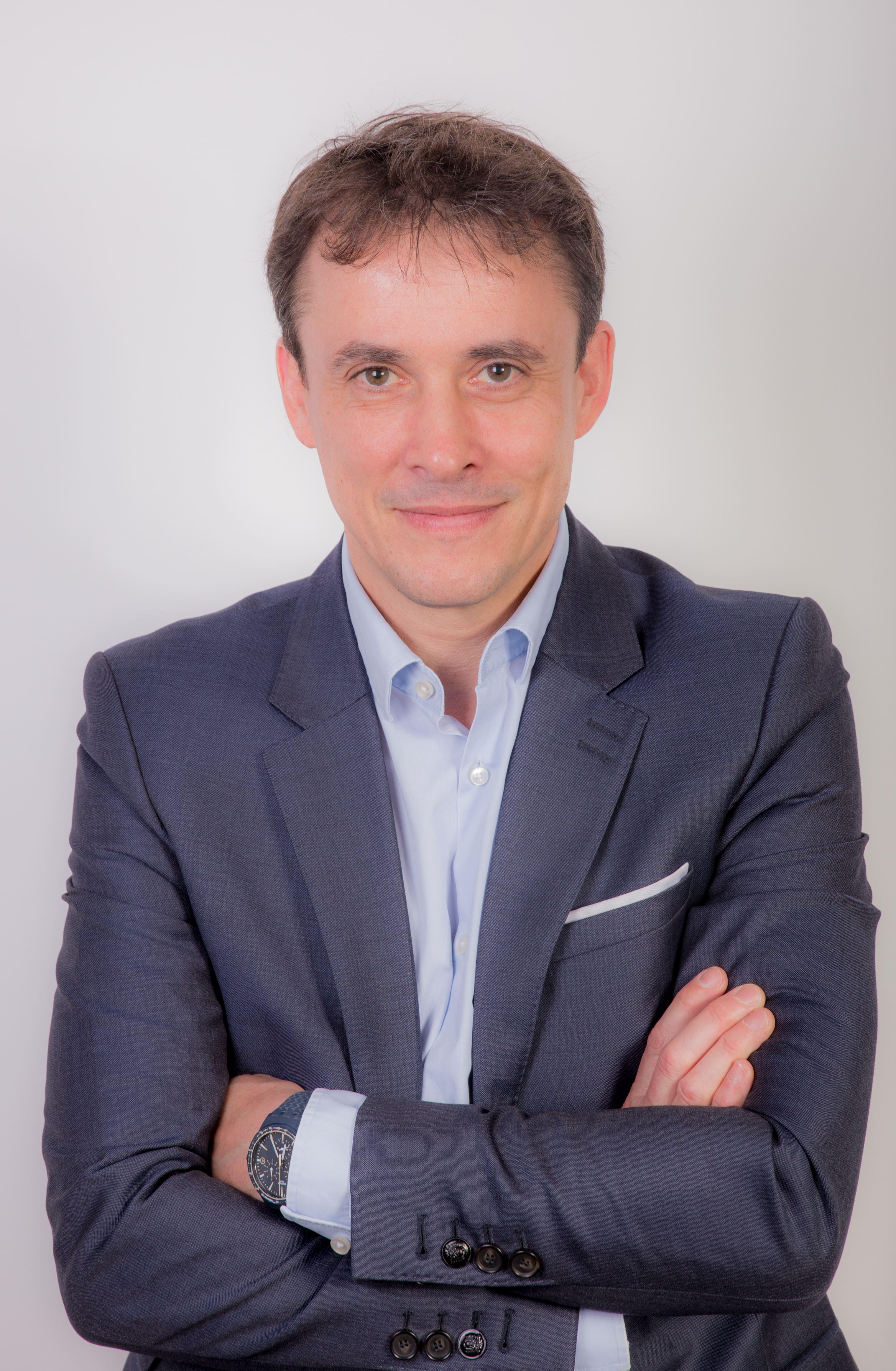 Arnauld Vallin, le président et cofondateur d'ACE Medias Tools