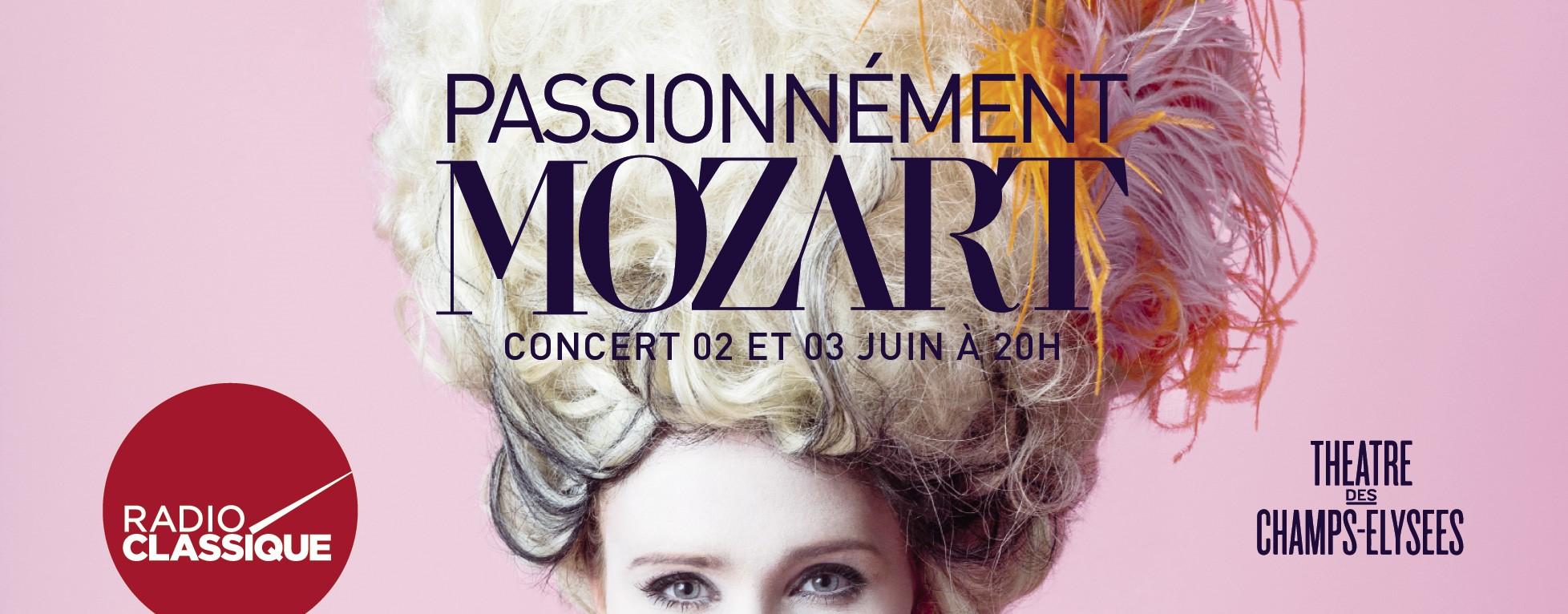 "Radio Classique : un concert ""Passionnément Mozart"""