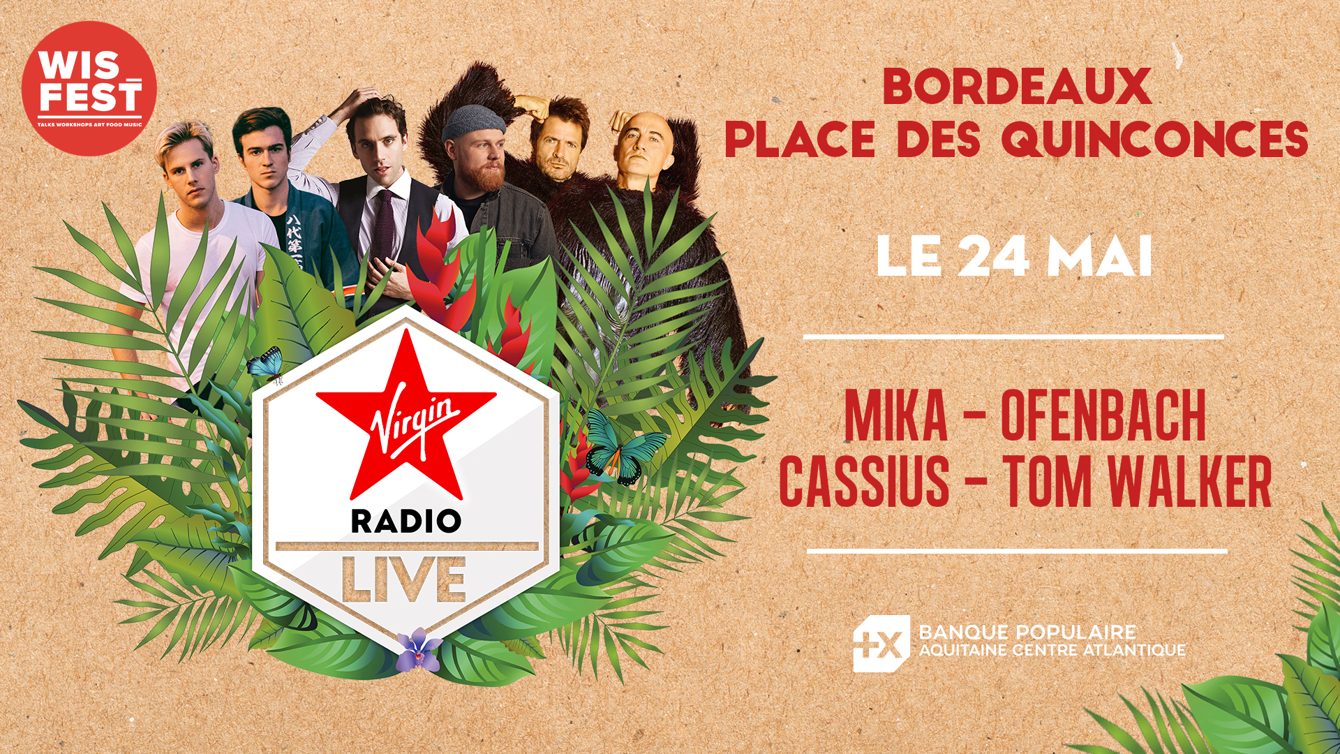 Europe 1 et Virgin Radio s'installent à Bordeaux