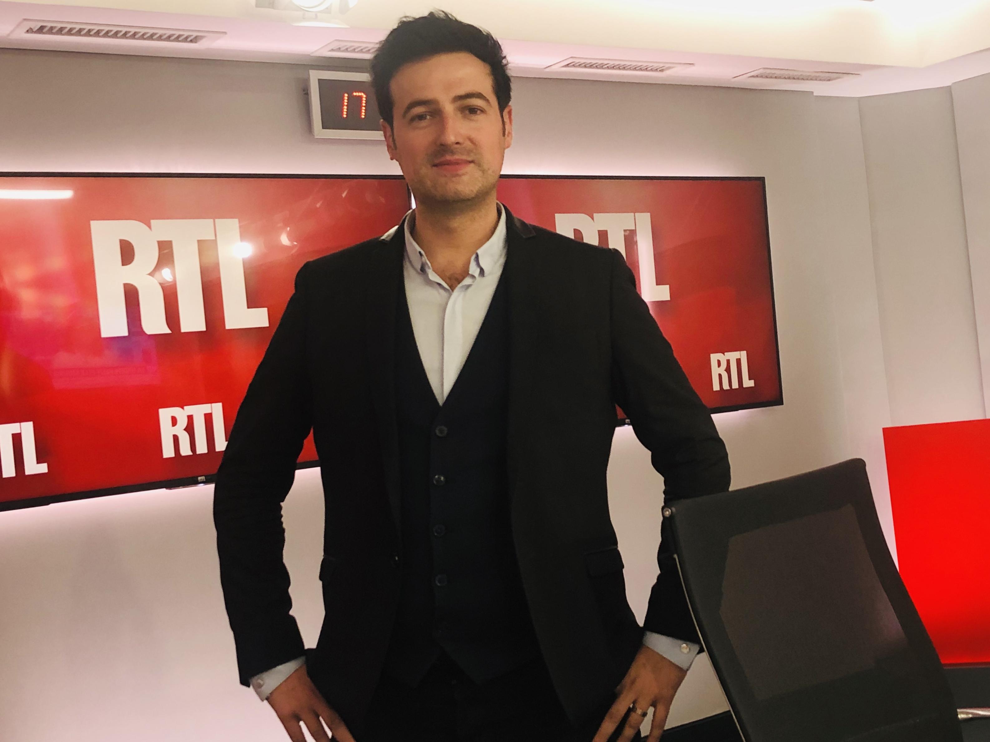 Antoine Daccord dirige les activités numérique du pôle audio RTL / M6. Photo LLP François Quairel