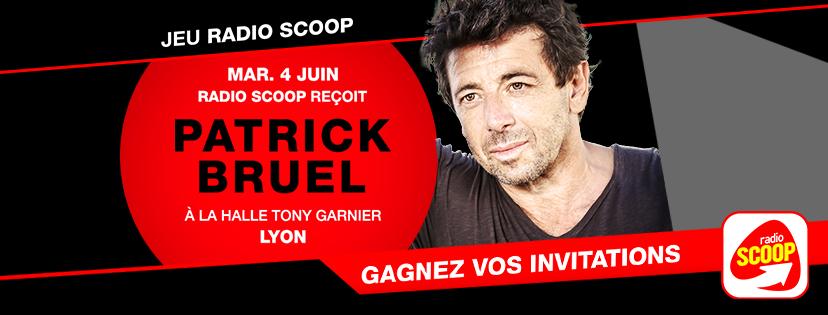 Patrick Bruel reçoit Radio Scoop avant son concert à Lyon