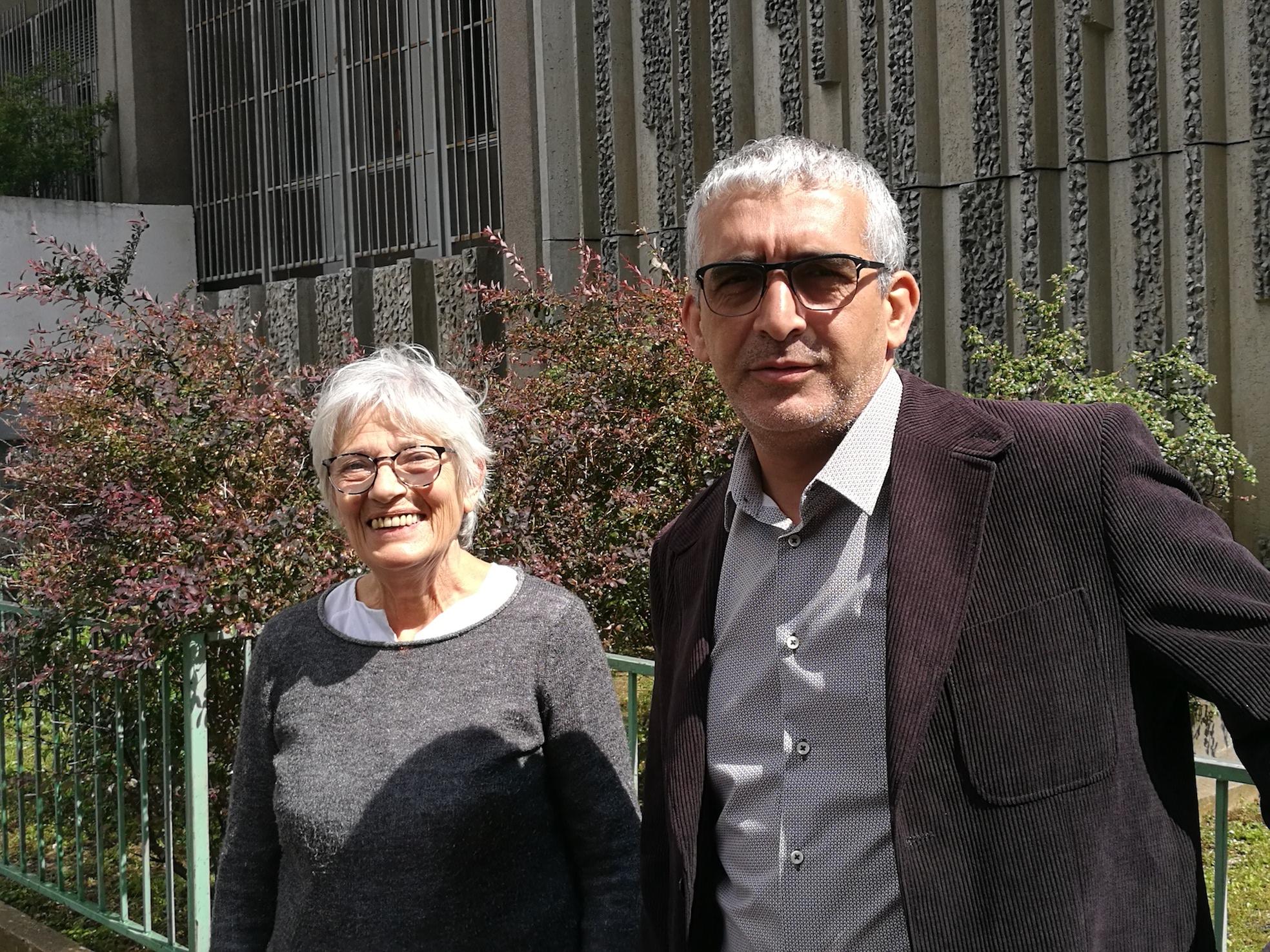 Éliane Blin et Farid Boulacel coprésidents de la CNRA qui tient ces 25e États Généraux des Radios Associatives jusqu'à ce vendredi à l'ESJ Paris © Olivier Malcurat