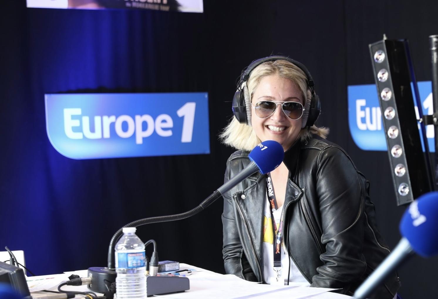 """Émilie Mazoyer présente """"Musique !"""", du lundi au vendredi de 20h à 22h sur Europe 1 © Marie Etchegoyen / Capa Pictures – Europe 1"""