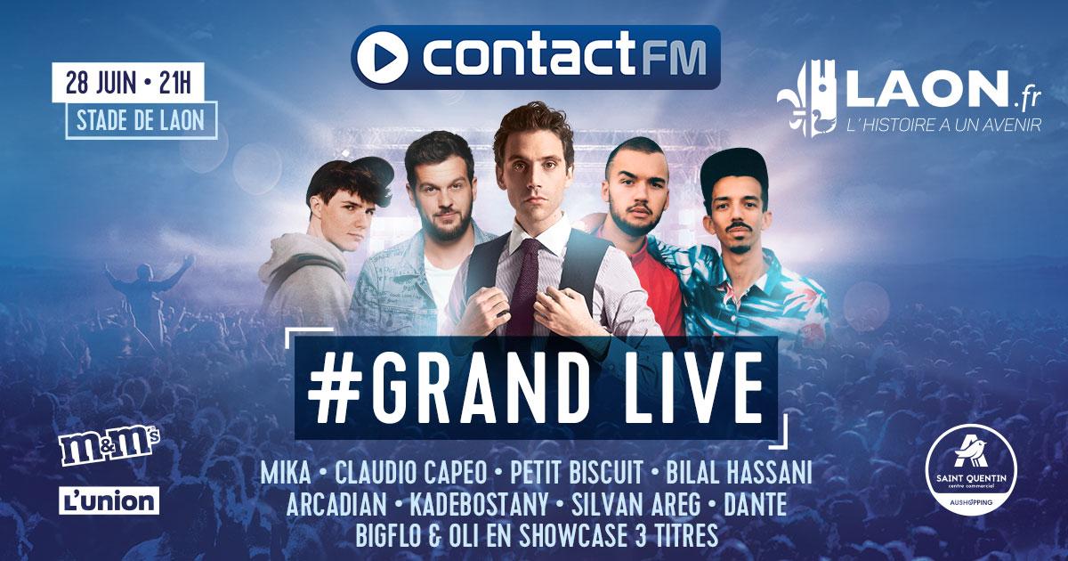 """Contact FM : un """"Grand Live"""" pour terminer la saison"""