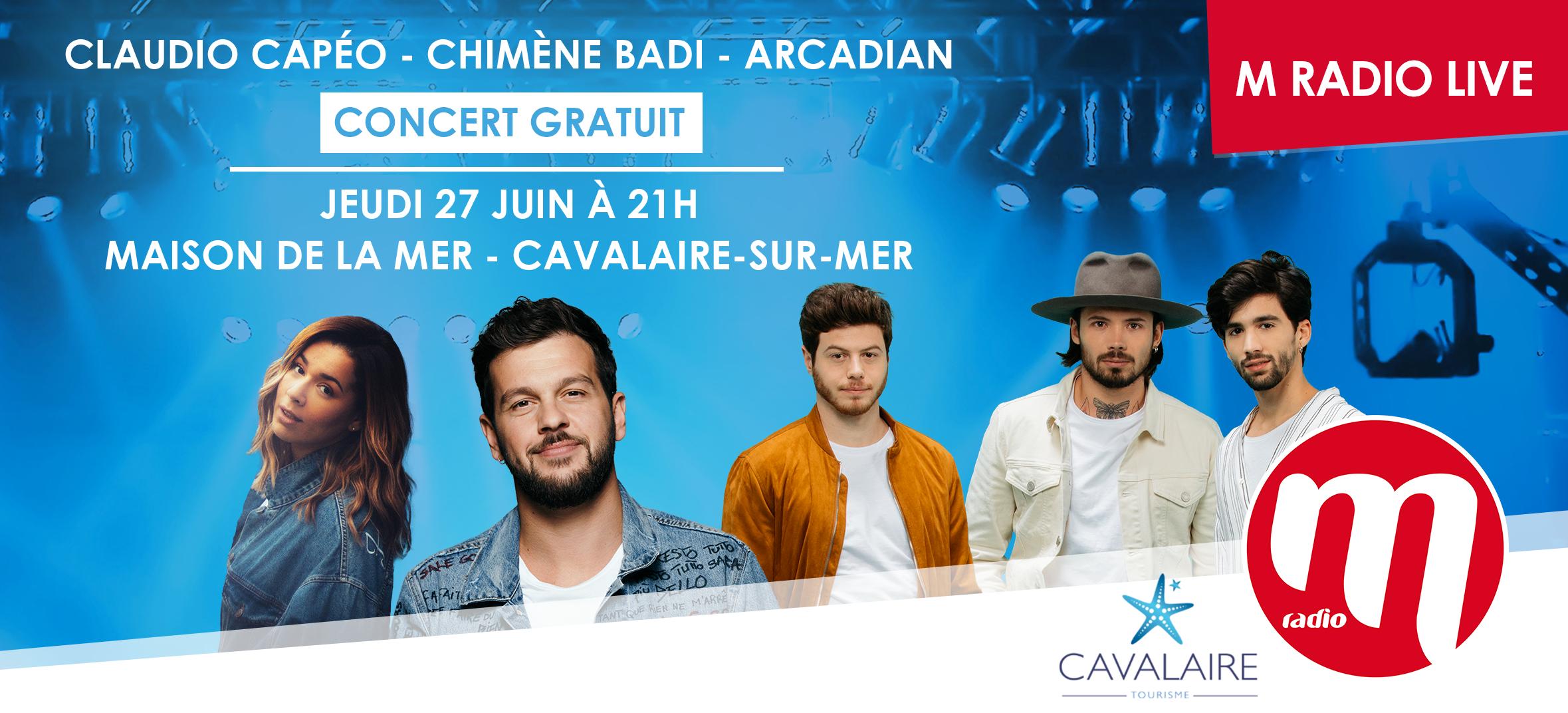 "M Radio : un ""M Radio Live"" à Cavalaire-sur-Mer"