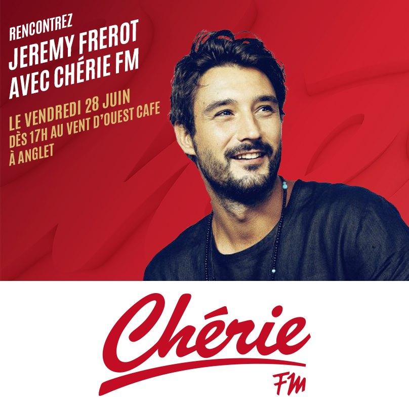 Chérie FM : une rencontre avec Jérémy Frérot