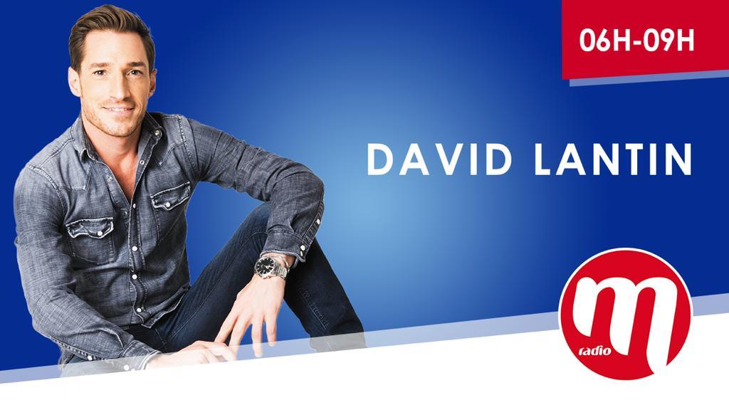 Après une saison sur la tranche 9h/12h, David Lantin animera la matinale de M Radio la saison prochaine.