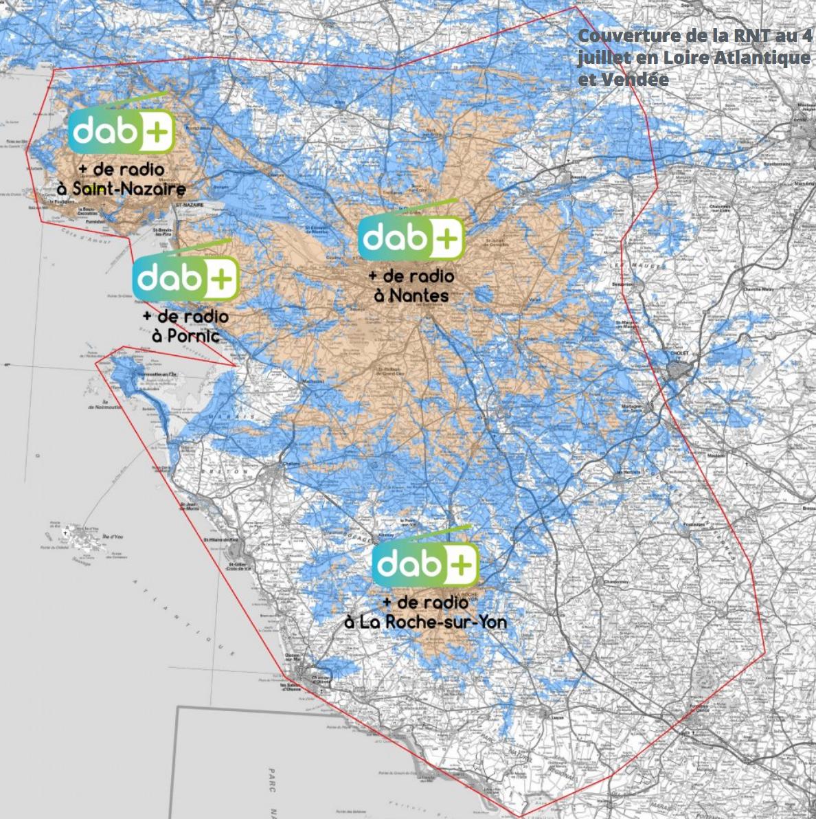Les émetteurs DAB+ sont allumés en Loire-Atlantique