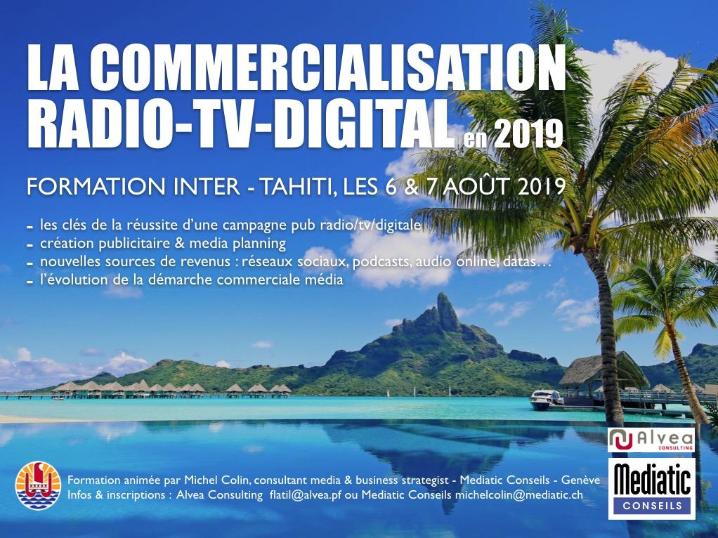 Une formation Mediatic Conseils à Tahiti
