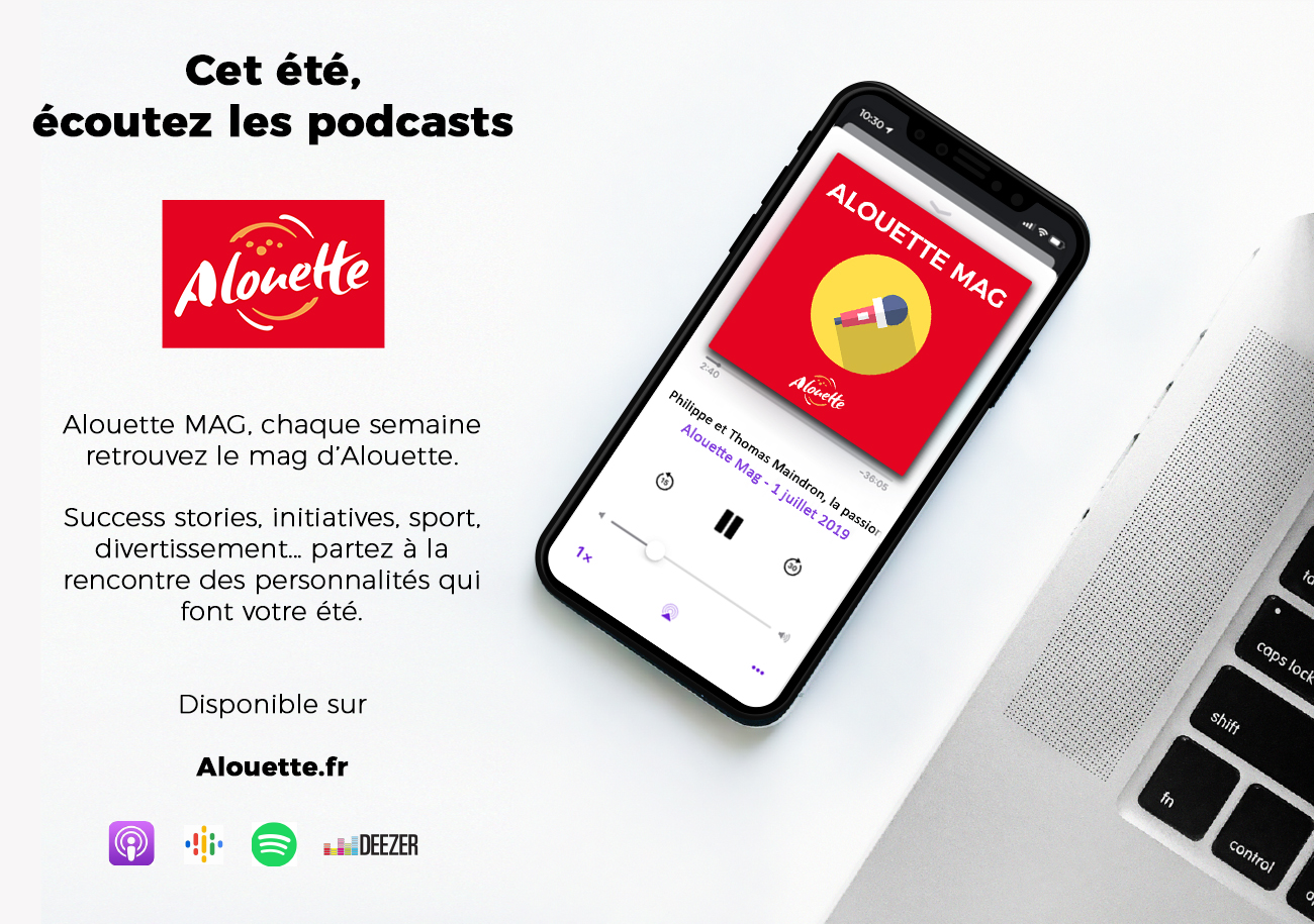 Alouette lance son premier podcast natif