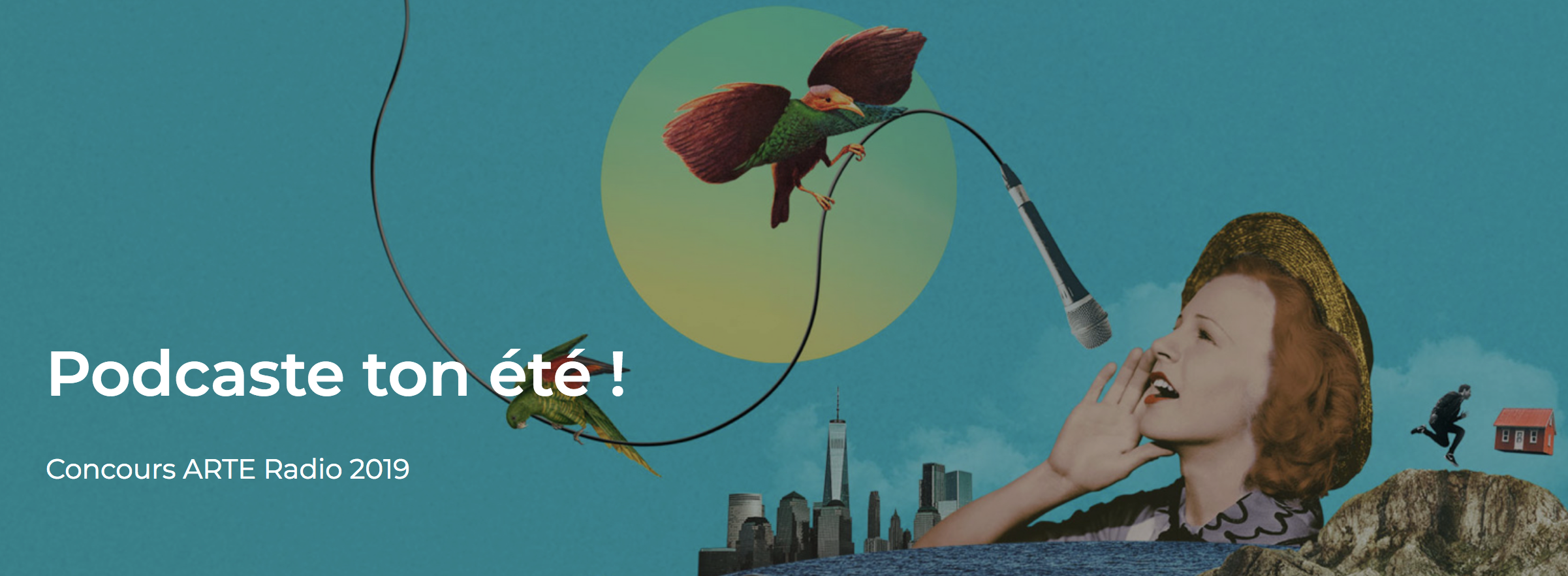 Arte Radio lance son concours de podcast sur l'été