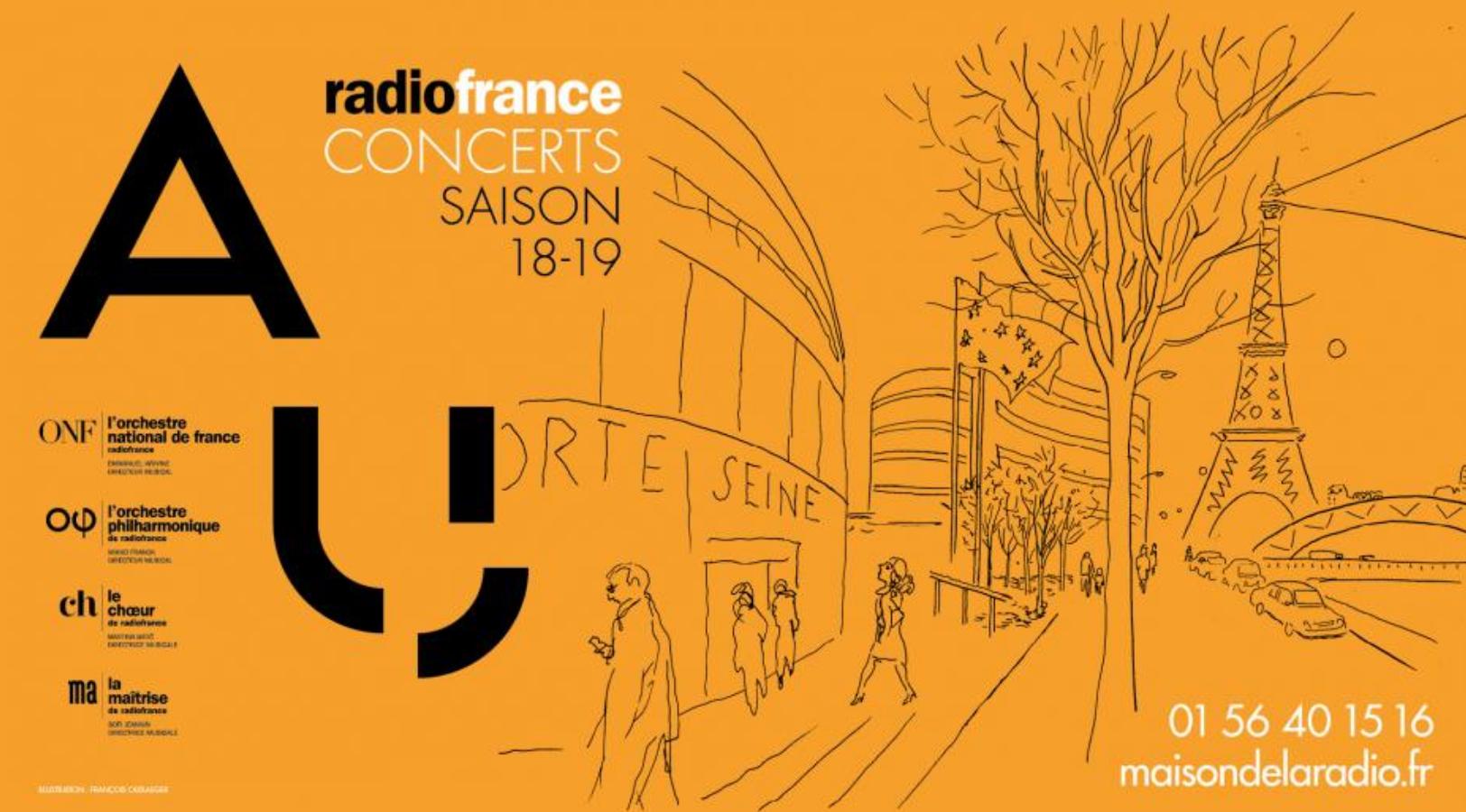 Concerts à Radio France : une croissance du nombre d'abonnés de 91% en 4 ans