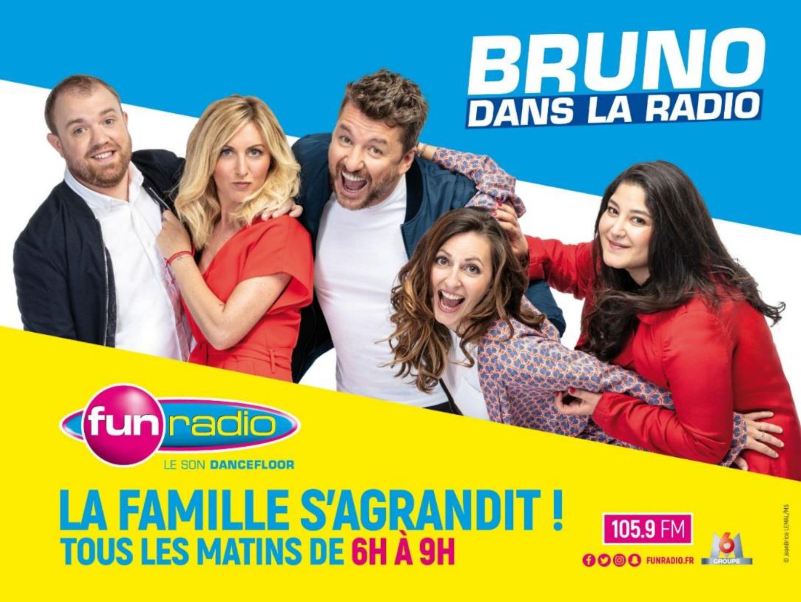 Fun Radio : une campagne pour promouvoir la matinale