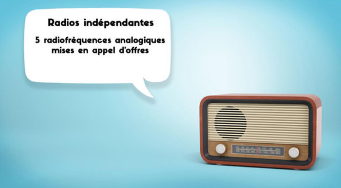 Belgique : 5 fréquences radio remises en appel d'offres
