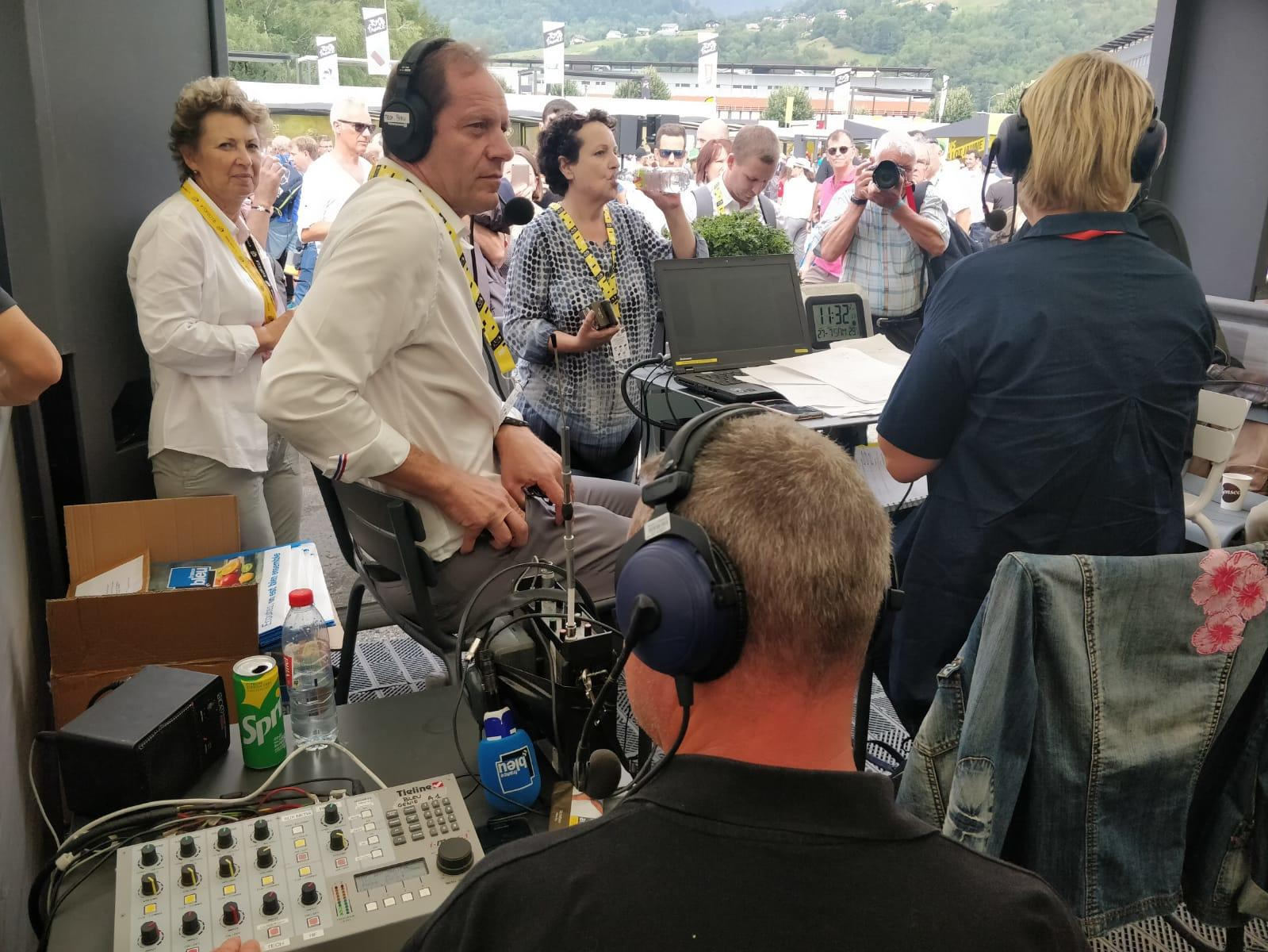 Les produits Tieline ont été utilisés durant le dernier Tour de France par de nombreuses radios