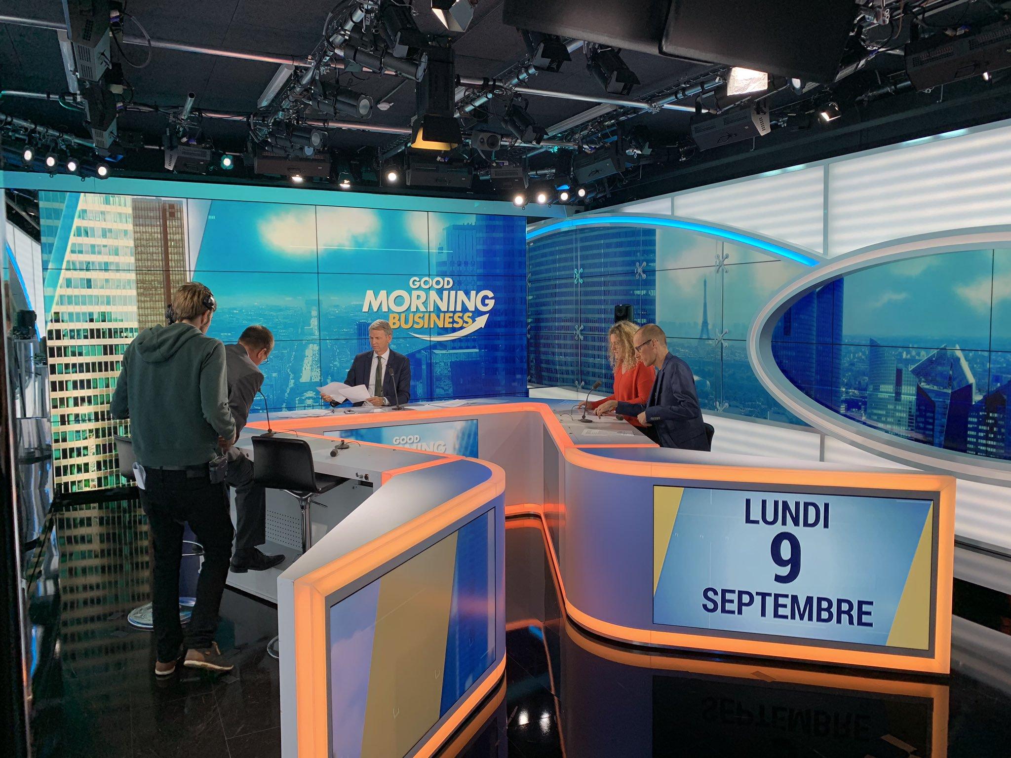 Christophe Jakubyszyn remplace Stéphane Soumier à la matinale de BFM Business / Photo LLP