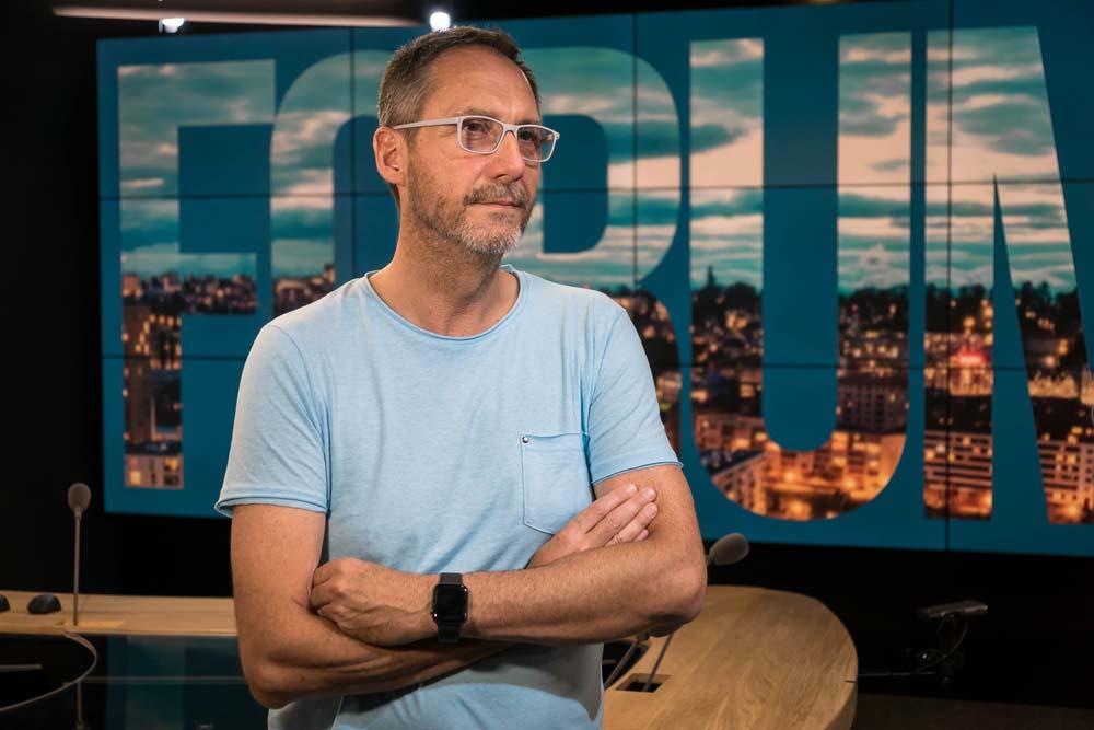 Philippe Staehlin, Chef Secteur Systèmes Broadcast à la RTS