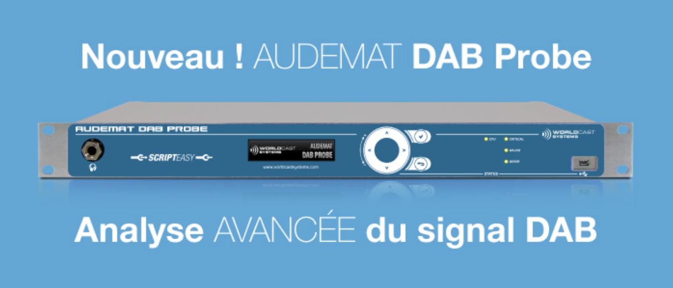 Audemat DAB Probe : une nouvelle version disponible