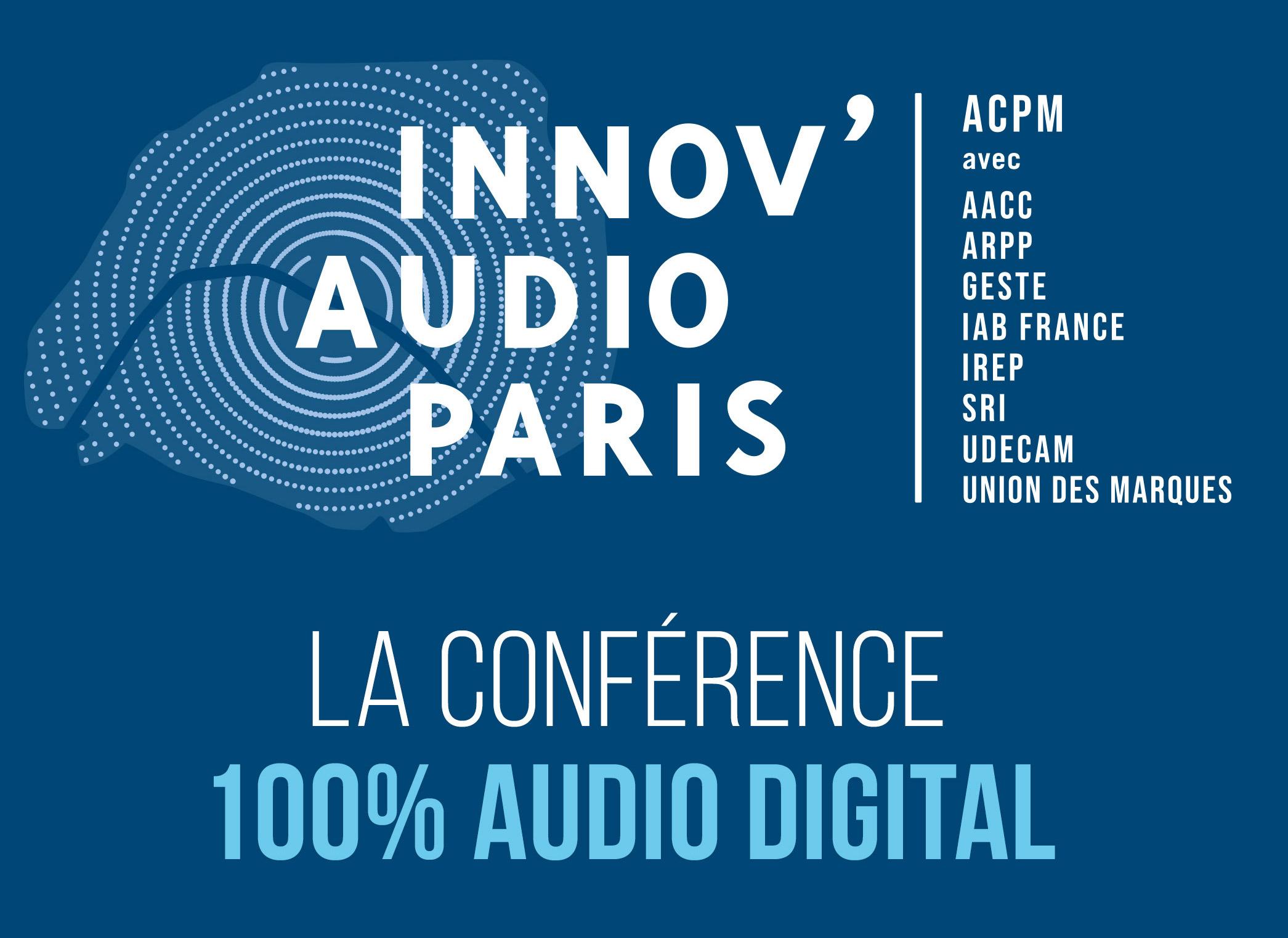 2ème édition d'Innov'Audio Paris, le 20 novembre, à la Maison de la Radio