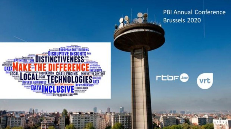 """La conférence """"Public Broadcasters Interational 2020"""" se tiendra à Bruxelles du 14 au 16 octobre 2020"""