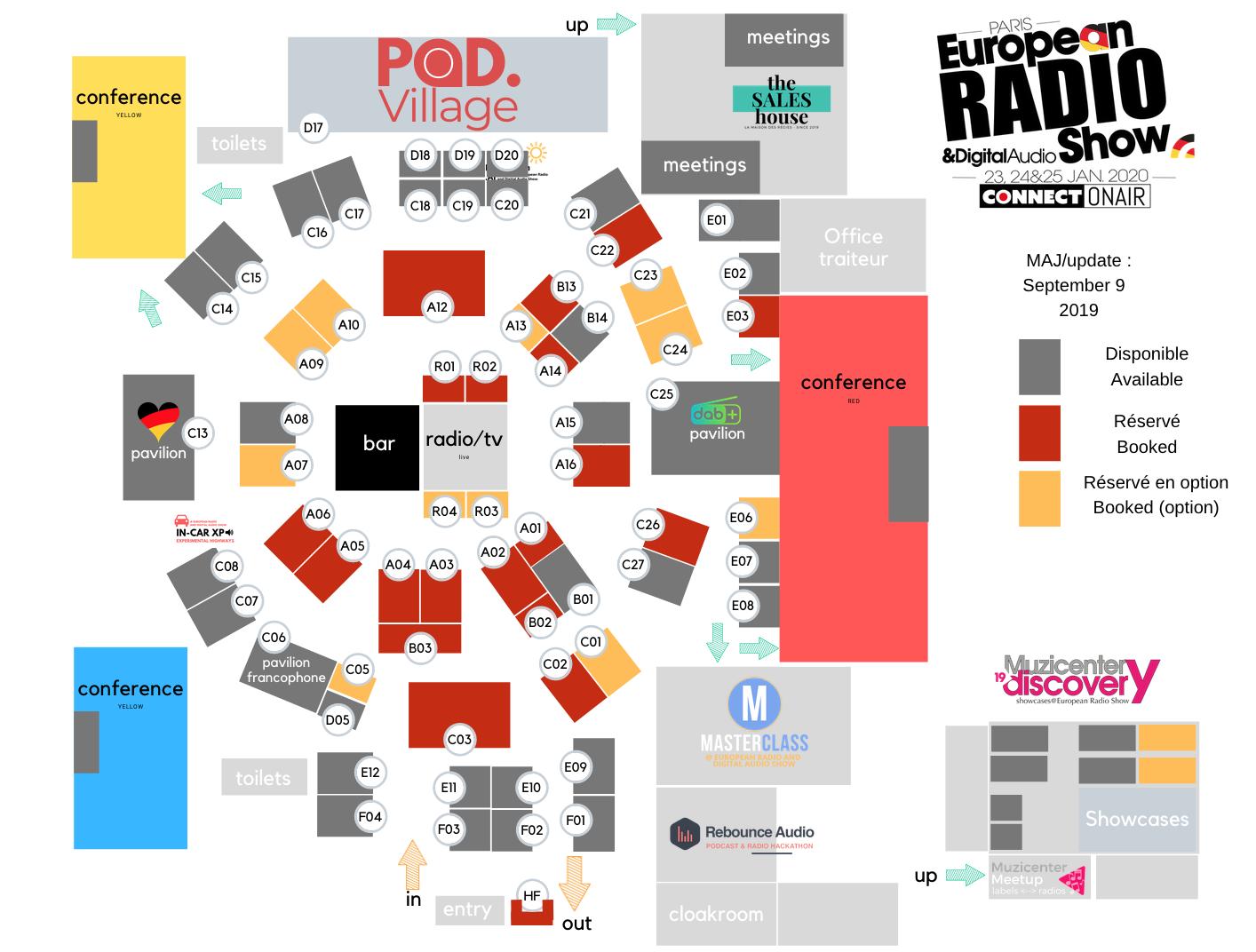 Réservez votre stand au Salon de la Radio 2020
