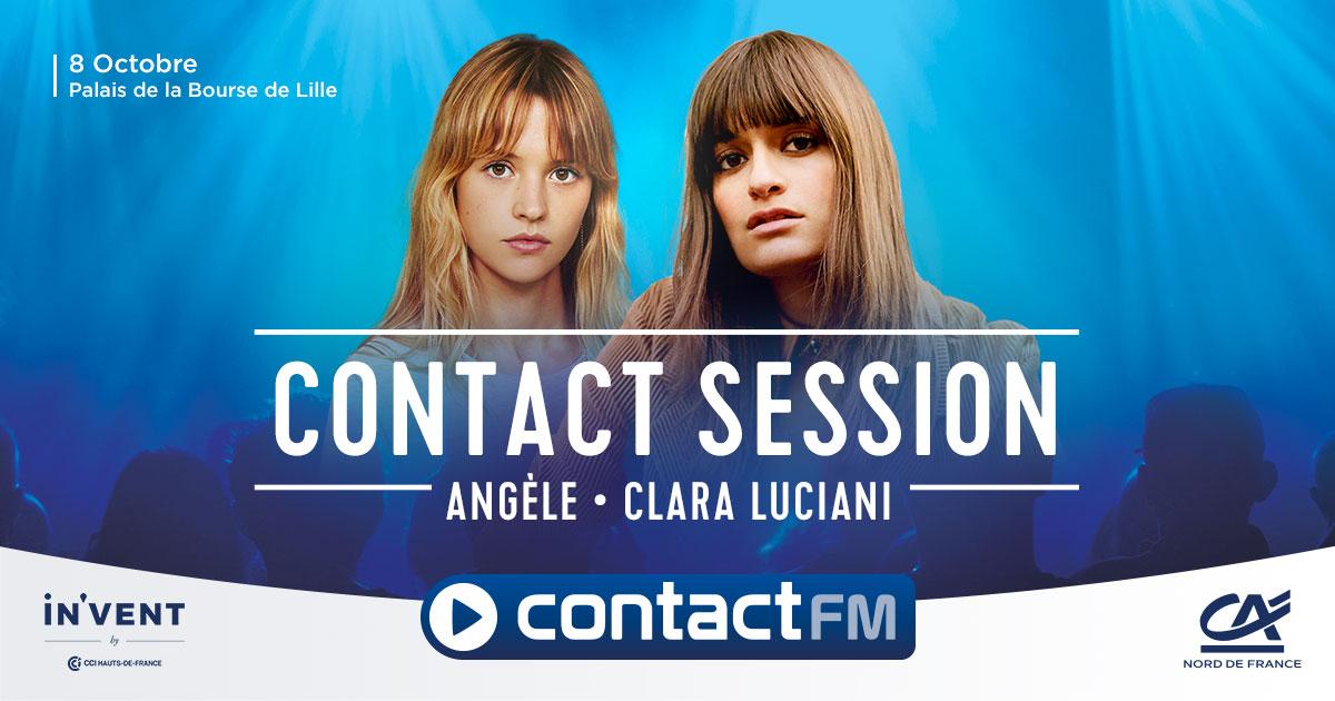Contact FM réunit sur scène Angèle et Clara Luciani