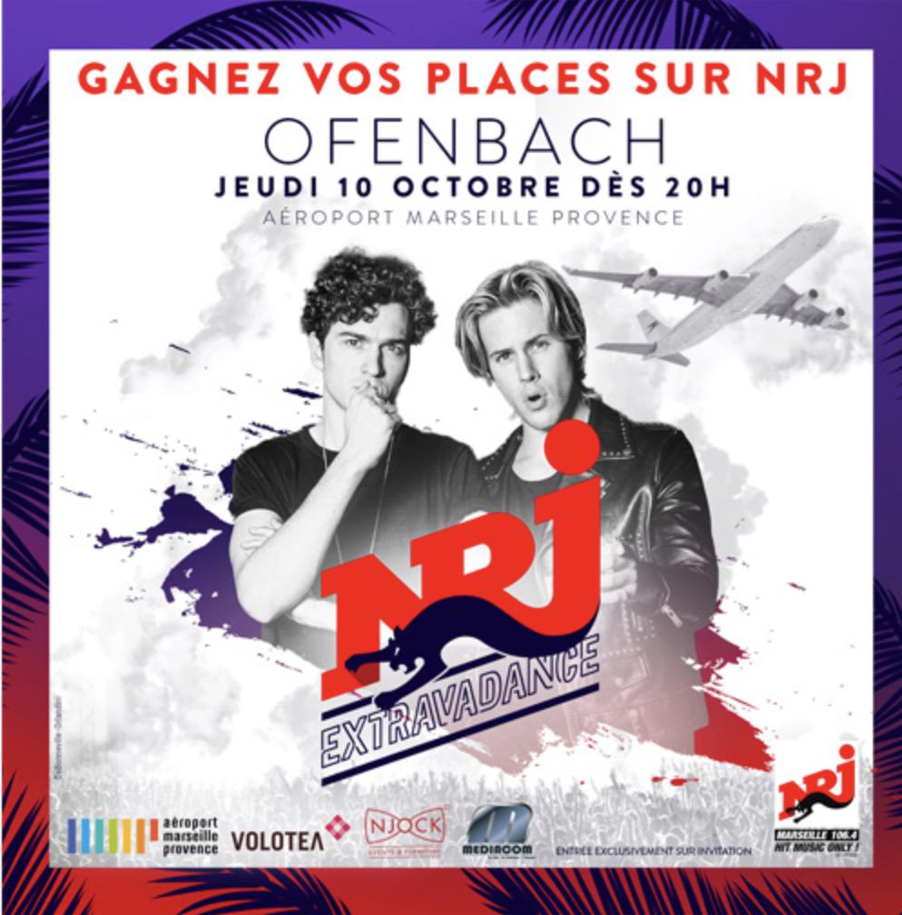 NRJ : un concert à l'aéroport de Marseille Provence