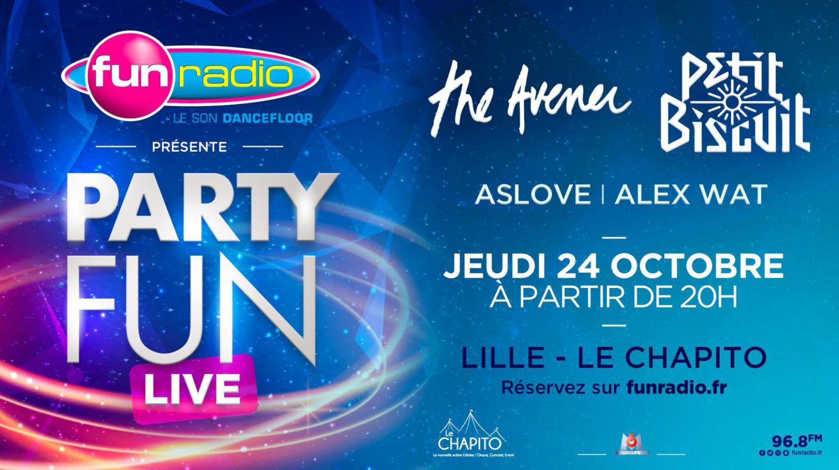 """Lille : Fun Radio lance sa tournée """"Party Fun Live"""""""