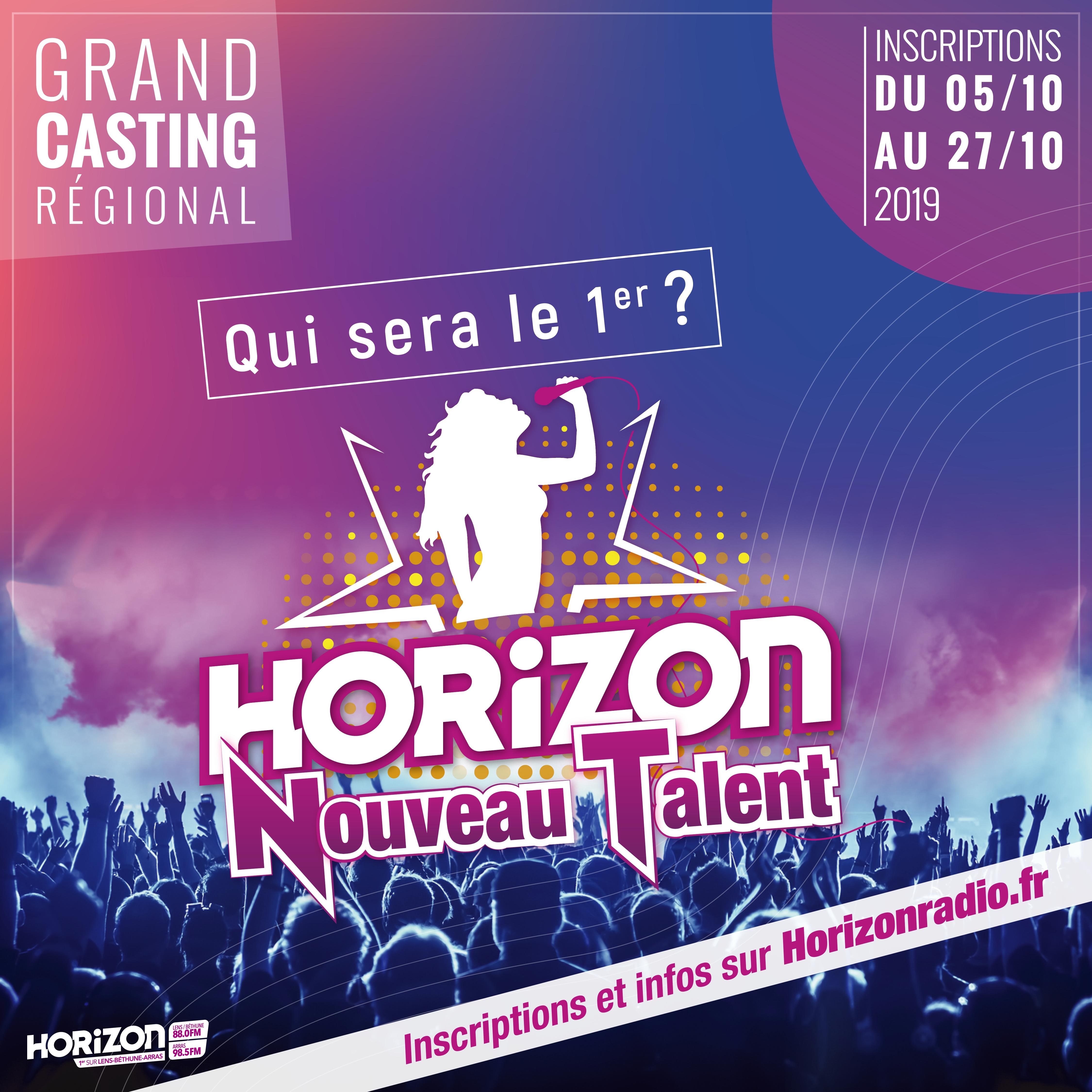 """Horizon lance le concours """"Horizon Nouveau Talent"""""""
