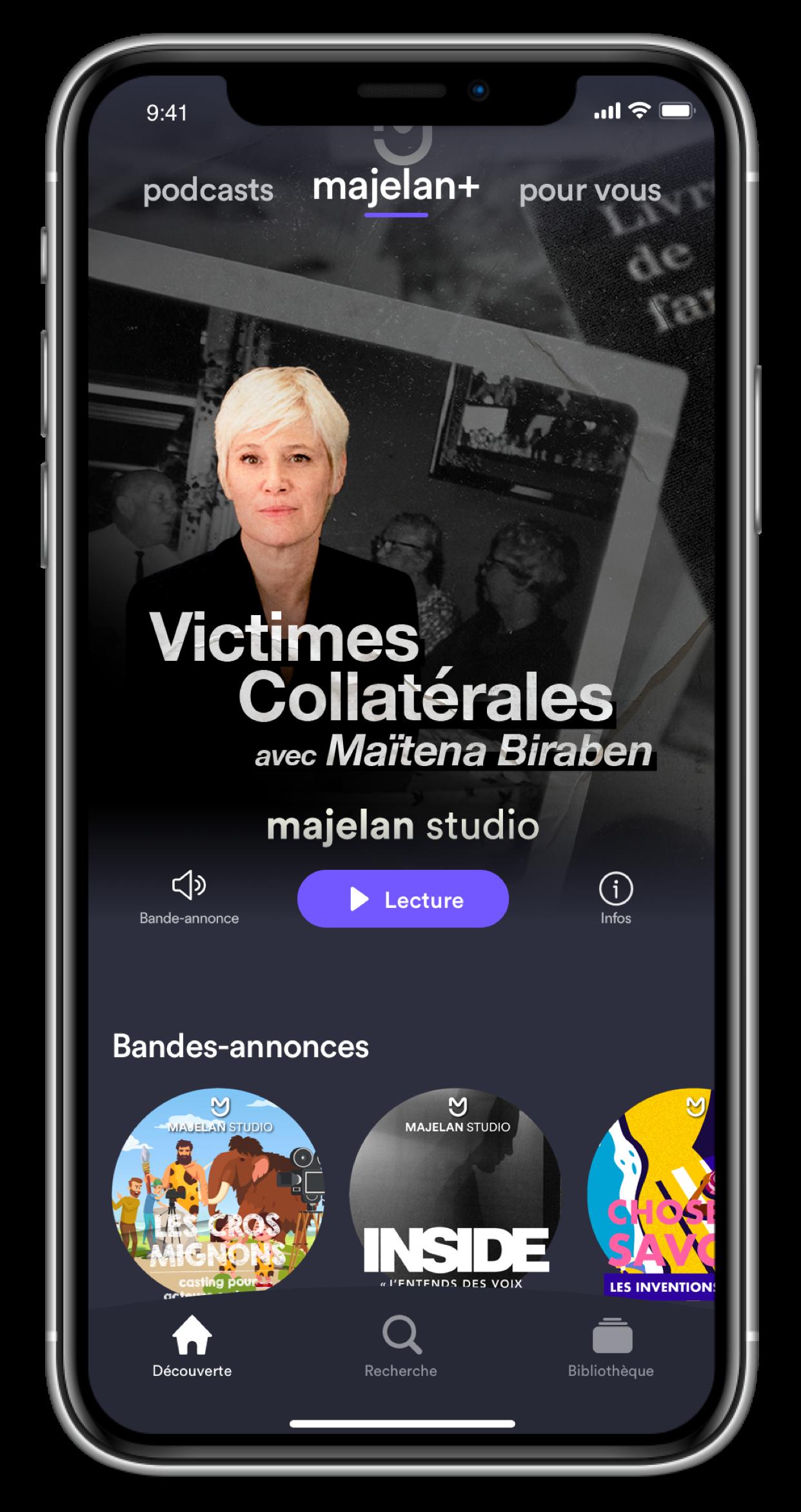 Majelan : un podcast avec Maïtena Biraben