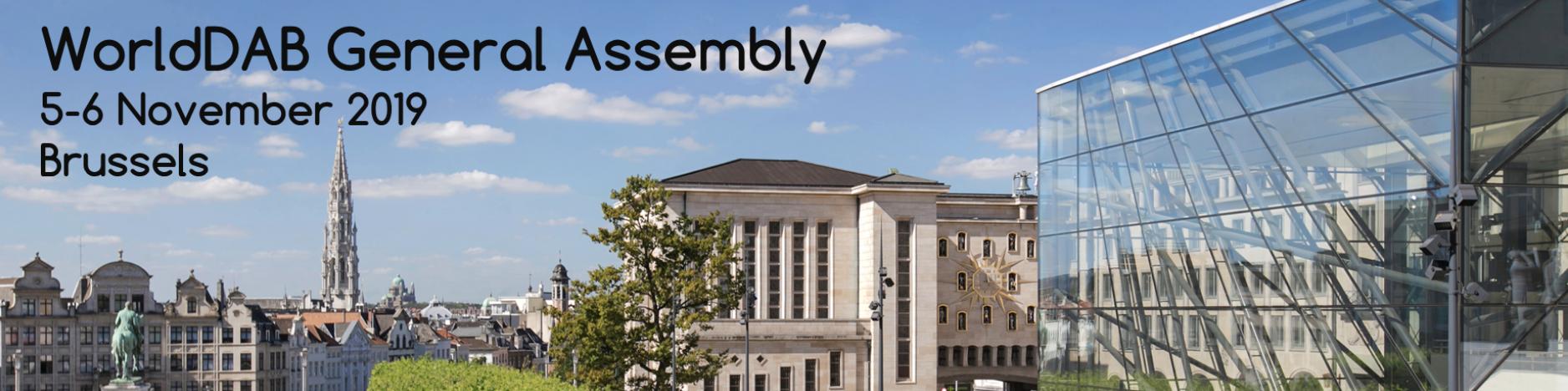 Assemblée générale du WorldDAB à Bruxelles