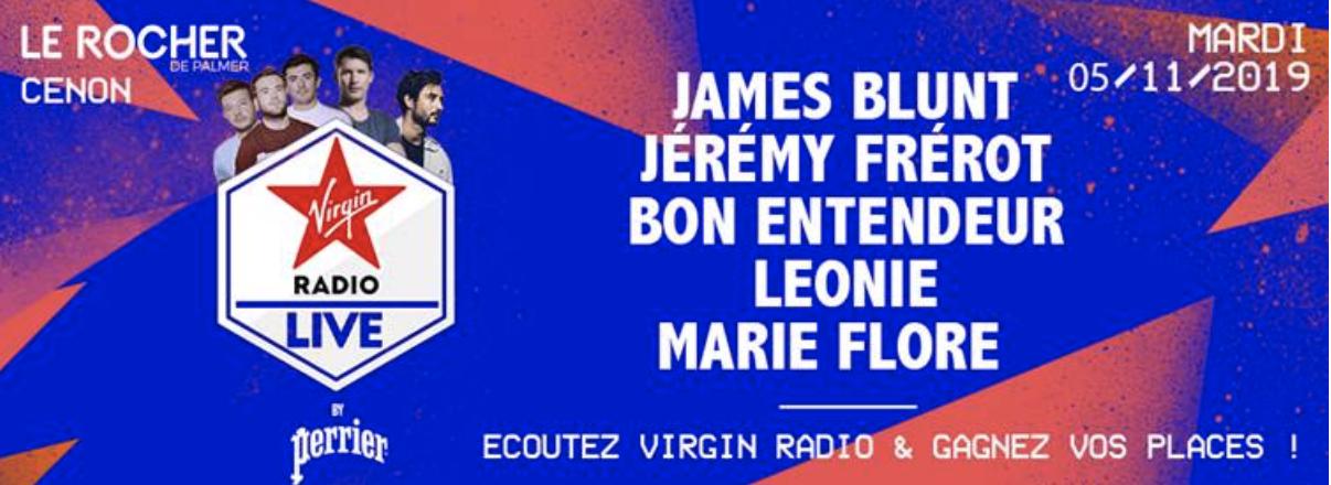"""Virgin Radio : un """"Virgin Radio Live"""" en Gironde"""