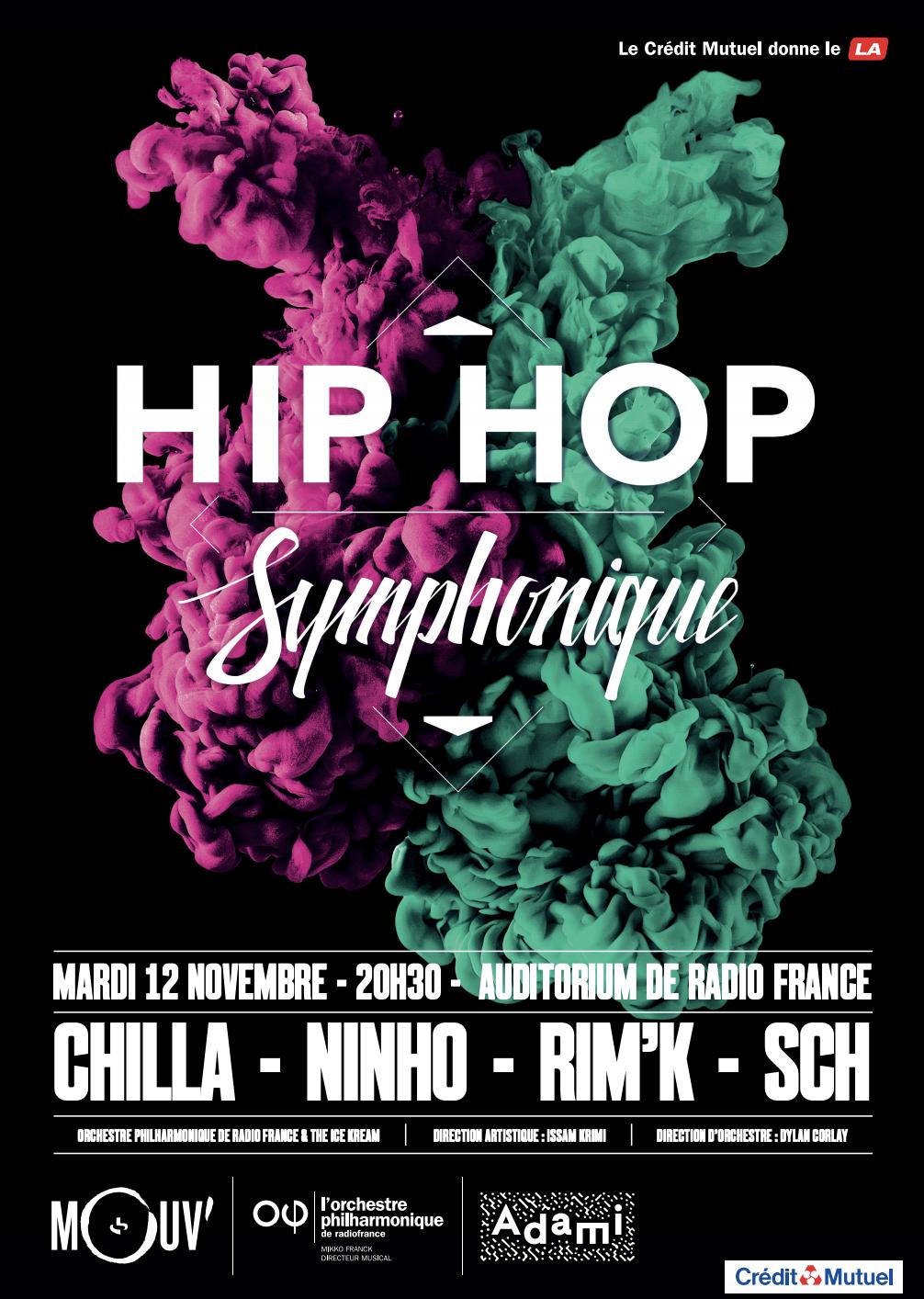 La 4e édition de Hip Hop Symphonique aura lieu le 12 novembre
